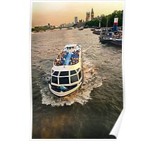 London boat tour Poster