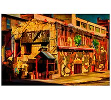 Pedro's In DUMBO Photographic Print