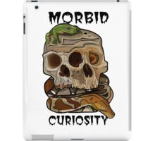 MORBID CURIOSITY iPad Case/Skin