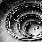 Bramante Staircase Vatican by saaton