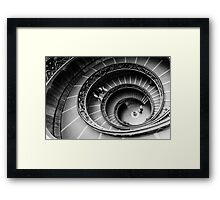 Bramante Staircase Vatican Framed Print