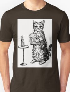 Real Cat Love Beer Unisex T-Shirt