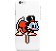 DuckTales Scrooge McDuck Pogoing iPhone Case/Skin