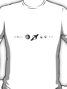 solar system doodle T-Shirt