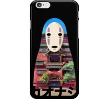 No Face Bathhouse2 iPhone Case/Skin
