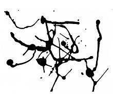 DANCING BRUSH Photographic Print