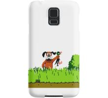 Duck Hunt Dog with Duck Samsung Galaxy Case/Skin