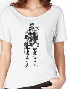 Metal Gear Solid - Solid Snake Women's Relaxed Fit T-Shirt