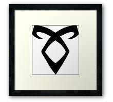 Mortal Instruments - Enkeli - Angelic Power Rune Framed Print