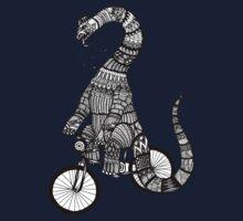 Brontosaurus Love Pipe  One Piece - Short Sleeve