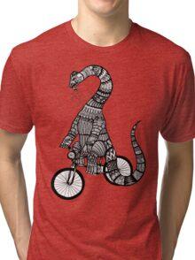 Brontosaurus Love Pipe  Tri-blend T-Shirt