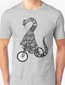 Brontosaurus Love Pipe  Unisex T-Shirt