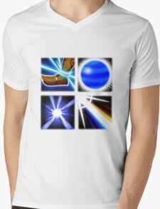 Lux Ability Icons Mens V-Neck T-Shirt