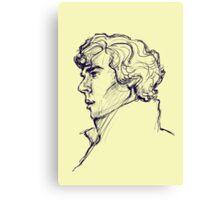 Sherlock Holmes #2 Canvas Print