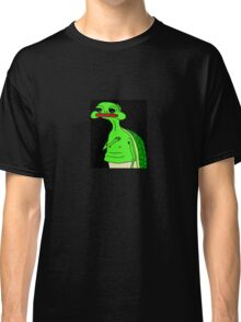 'Pepe' the Sad Turtle (not the smug frog this time) Classic T-Shirt
