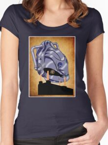 RISE OF THE CYBERMEN  Women's Fitted Scoop T-Shirt