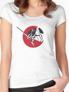 Eva scream Women's Fitted Scoop T-Shirt