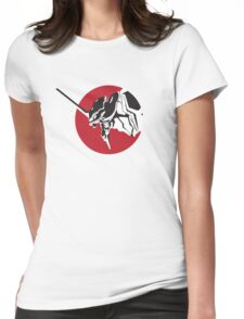Eva scream Womens Fitted T-Shirt