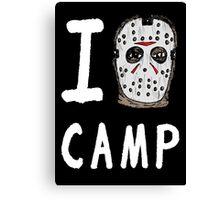 I Jason Camp Canvas Print