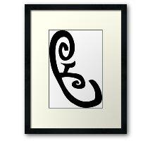 Mortal Instruments - Speech Rune Framed Print