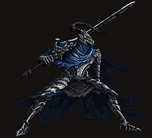 Dark Souls: Artorias Abysswalker card by MenasLG