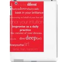 devotions for daily life   iPad Case/Skin