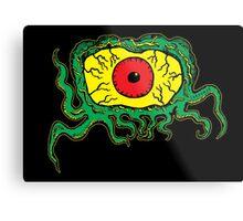 Crawling Eye Monster Metal Print