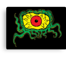 Crawling Eye Monster Canvas Print