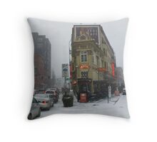 the annex 2 Throw Pillow