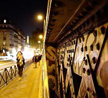 Pont Caulaincourt, Paris 18 by Nicholas Coates