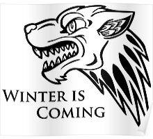 Game of Thrones - Unique House Stark Poster