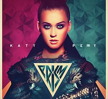 Katy Perry PRISM Apparel And Poster Design by Benikari47