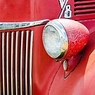1944 Ford Pickup - Headlight by Mary Carol Story