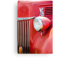 1944 Ford Pickup - Headlight Canvas Print