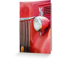 1944 Ford Pickup - Headlight Greeting Card