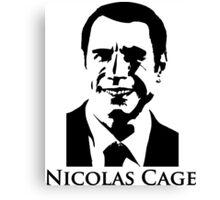 Nicolas Cage - Face/Off Canvas Print