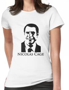 Nicolas Cage - Face/Off Womens Fitted T-Shirt