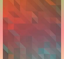Geometric Gradient Colour Variant 2 by LaCron