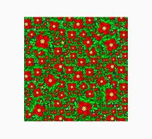 Red and Green Flowers Classic T-Shirt