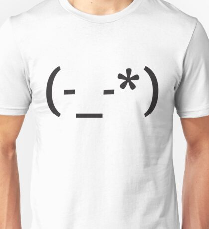 Emoticon Series: lil girl Unisex T-Shirt