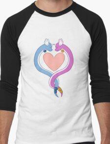 Dragonair love Men's Baseball ¾ T-Shirt