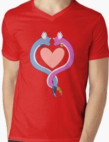 Dragonair love Mens V-Neck T-Shirt