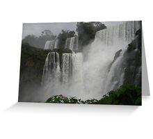 Bueaty of Iguazu Falls Argentina Greeting Card