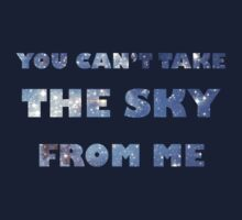 You Can't Take the Sky From Me Navy by kdm1298