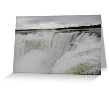 Devils Throat, Iguazu Falls Argentina Greeting Card