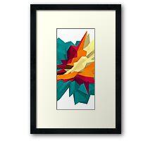 SPIKE III Framed Print