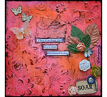 Soar in Red Photographic Print
