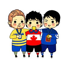 Men's Hockey Sochi 2014 by widdlekes