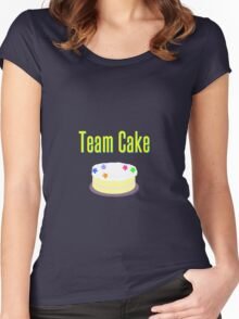 Team Cake Women's Fitted Scoop T-Shirt