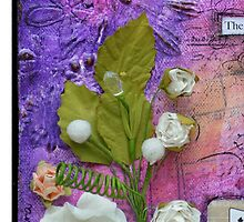 Thoughts 2 in Purple by Giovanna Scott